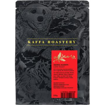 Kaffa Roastery Herra Korppi 250 g kaffebönor