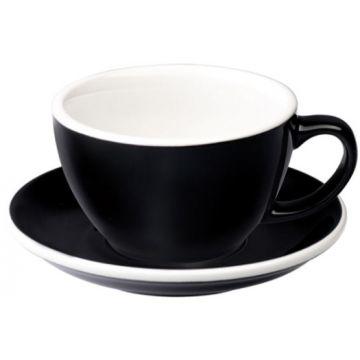Loveramics Egg Black lattekopp 300 ml