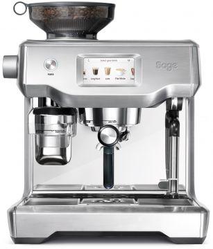 Sage The Oracle Touch espressomaskin, borstat stål