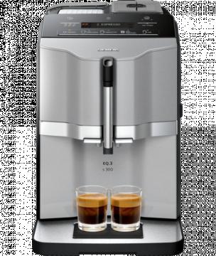 Siemens EQ.3 Series 300 kaffeautomat, titanium
