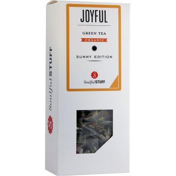 Soulful Stuff Joyful grönt te, 15 tepåsar