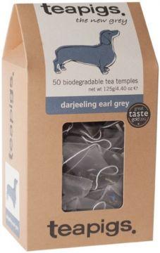 Teapigs Darjeeling Earl Grey 50 tepåsar