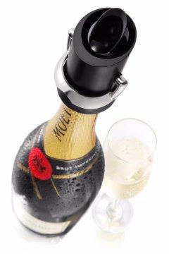 Vacu Vin Champagne Saver flaskförslutare/serveringspip
