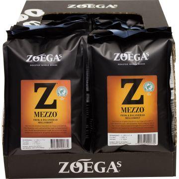 Zoégas Mezzo 8 x 450 g kaffebönor grossistförpackning