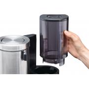 Borttagbar vattentank för enkel påfyllning.