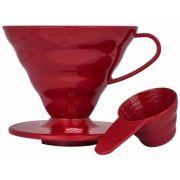 Hario V60 Dripper storlek 02 filterhållare, röd plast