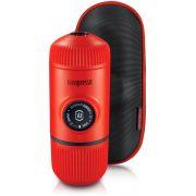 Wacaco Nanopresso Elements Lava Red - bärbar espressobryggare + skyddsfodral